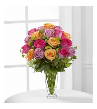 Le bouquet de roses Pure Enchantment