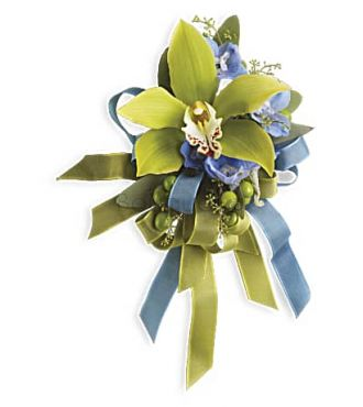 BOUTONNIERE ORCHIDEE GRANDE SOIREE