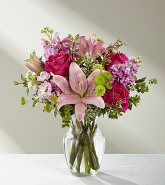 BOUQUET CHIC EN ROSE