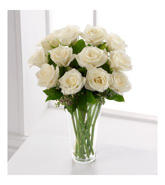 Le Bouquet FTD® Roses Blanches™