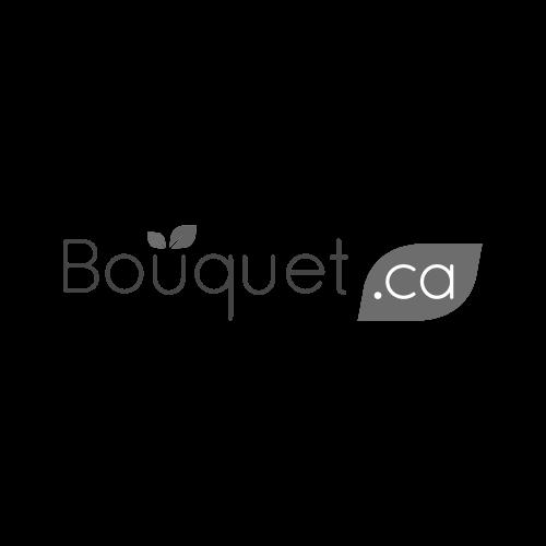 Bouquet Lys roses dans un vase
